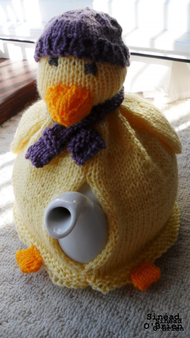 Duck tea cosy