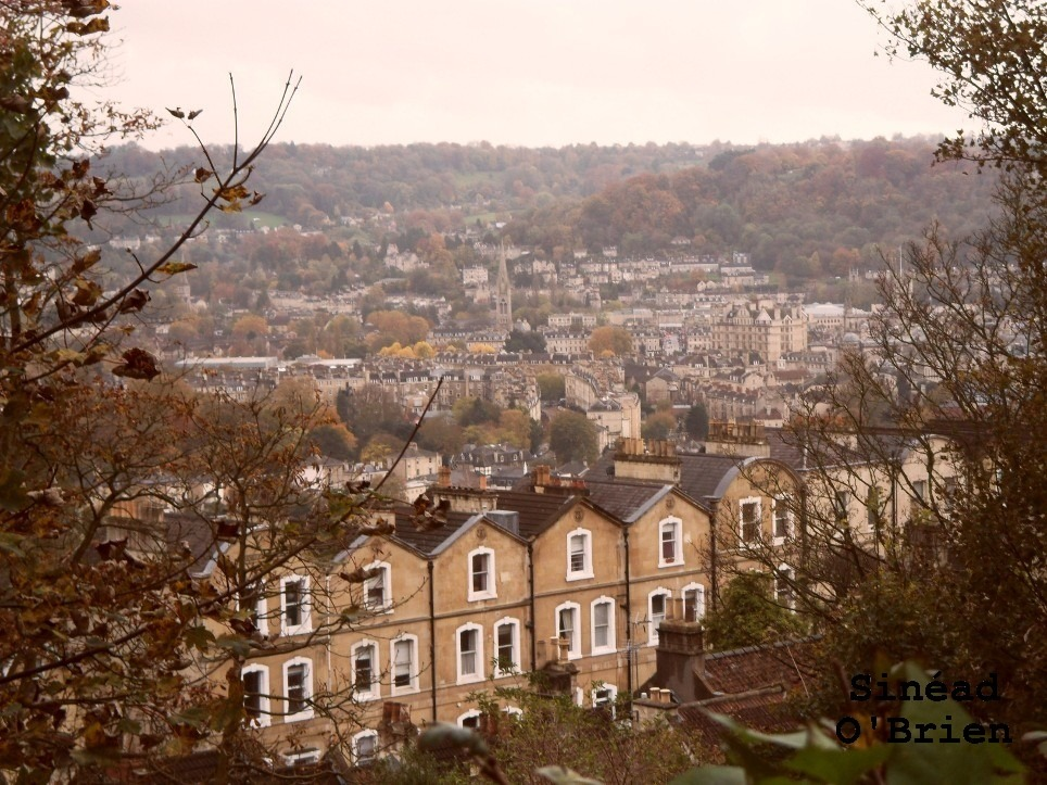 view of Bath from on high