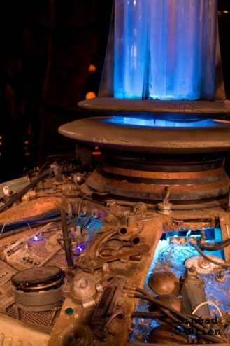 Doctor Who Inside Tardis