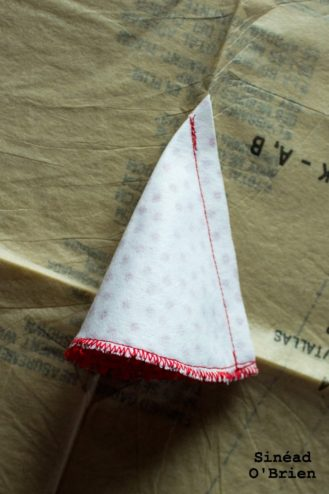 Blythe Party Hat Sewing
