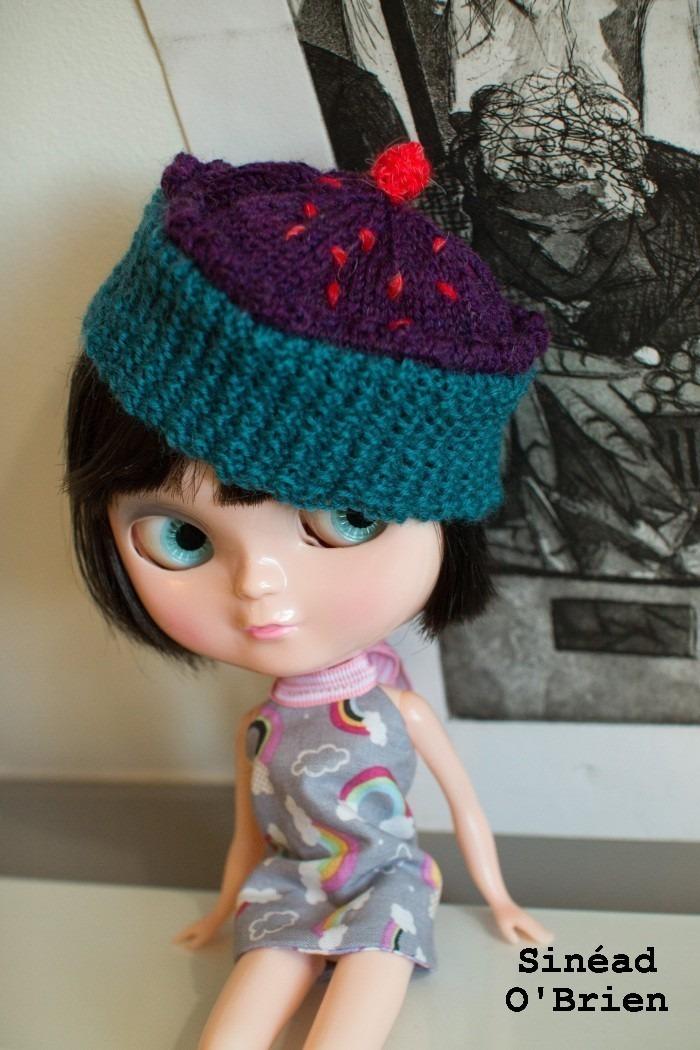 Blythe Cupcake Hat ? Knitting Pattern ? Sinead OBrien