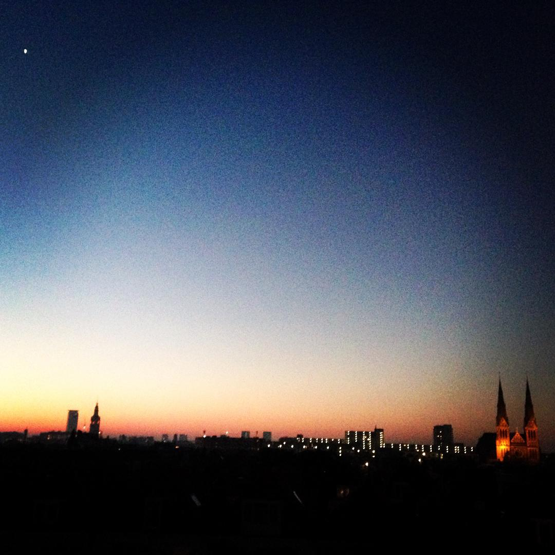 From Instagram: Good morning Den Haag.