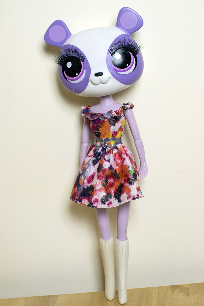 DIY Anthro Doll - Monster High Body and Littlest Pet Shop jumbo head