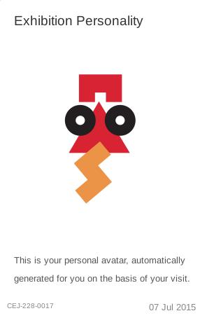 Personalised avatar - museum visit visualisation