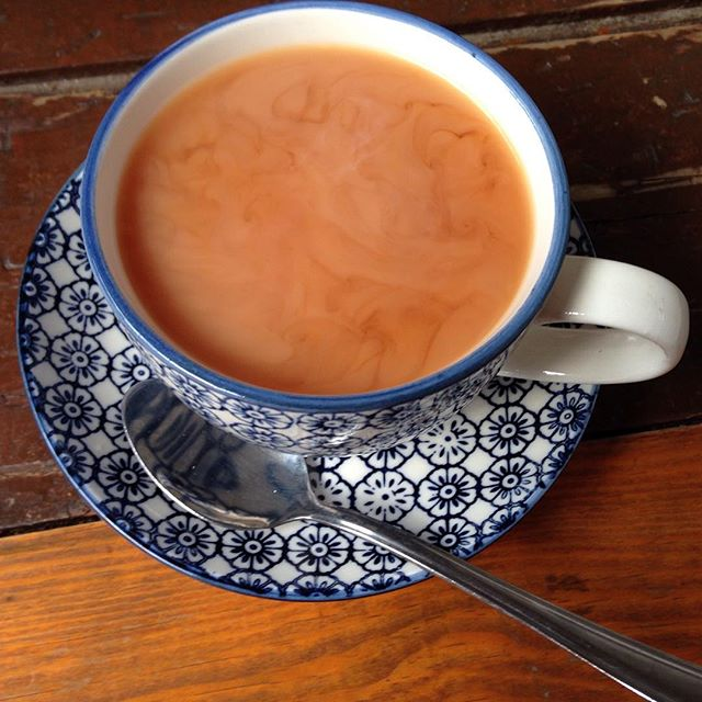 From Instagram: Sometimes all you really need is a lovely cup of tea. #theholt #tea #sheffield #nofilter #lovelycupoftea